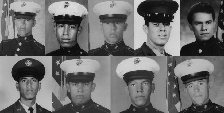 The top row from left is Alfonso, David, Enrique, Ezequiel and Ismael. The bottom row from left is Israel, Marcos, Richard and Rudy.