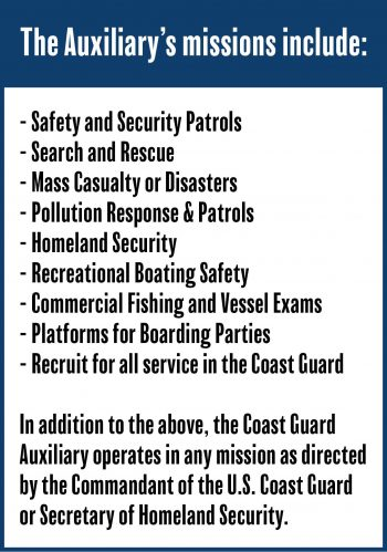 Coast Guard Auxiliary missions