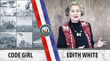 WWII WAVES Veteran Edith White AVS