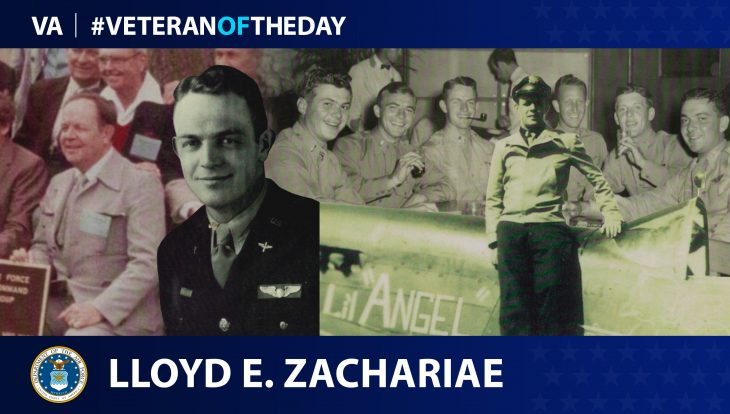 Air Force Veteran Lloyd Elton Zachariae is today's Veteran of the Day.