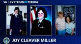 Air Force Veteran Joy Cleaver Miller is today's Veteran of the Day.