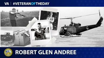 Army Veteran Robert Glen Andree is today's Veteran of the Day.