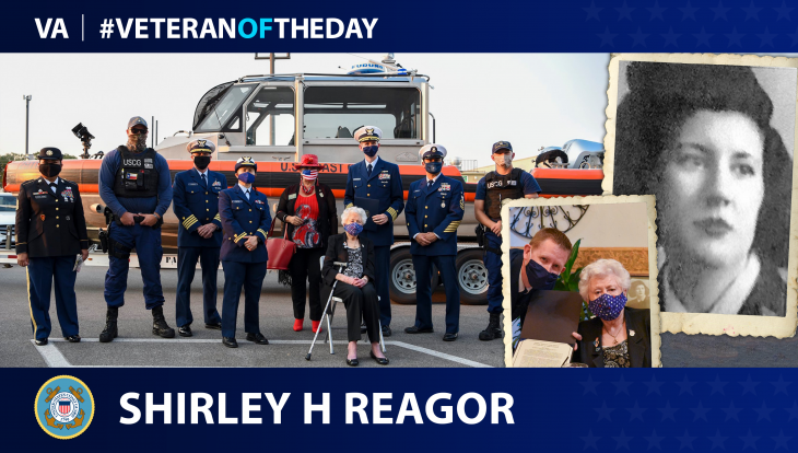 Coast Guard Veteran Shirley H. Reagor is today's Veteran of the Day.
