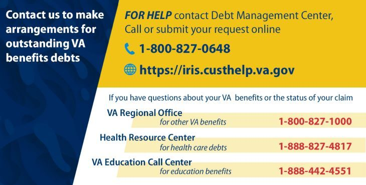 VA Debt Management Center to resume sending notification letters in January 2021