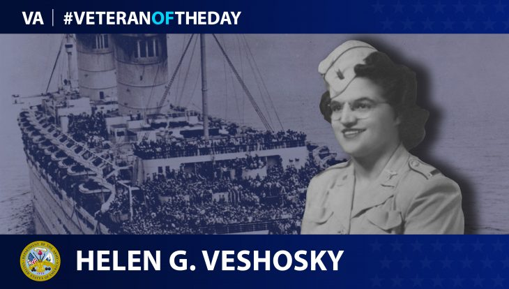 Army Veteran Helen Girardi Veshosky is today's Veteran of the Day.