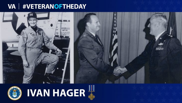 Air Force Veteran Ivan Hager is today's Veteran of the Day.