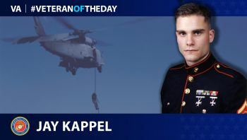 Marine Veteran Jay Kappel is today's Veteran of the Day.