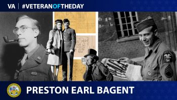 Army Veteran Preston Earl Bagent is today's Veteran of the Day.