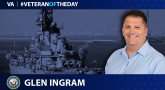 Navy Veteran Glen Ingram is today's Veteran of the Day.