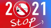 Poster with 2021 and No Smoking icon