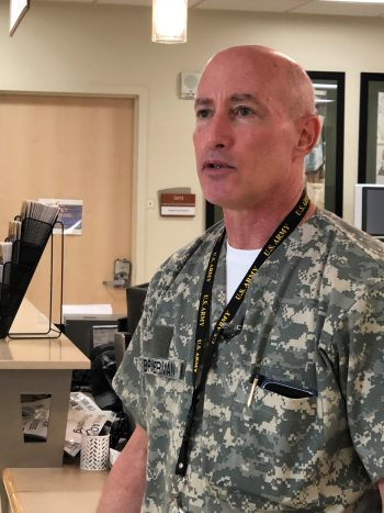 Steve Braverman served in the U.S. Army Medical Corps for three decades.