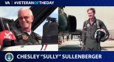 "Air Force Veteran Chesley ""Sully"" Sullenberger is today's Veteran of the Day."