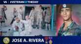 Army Veteran Jose A. Rivera is today's Veteran of the Day.