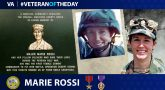 Army Veteran Marie Rossi is today's Veteran of the Day.