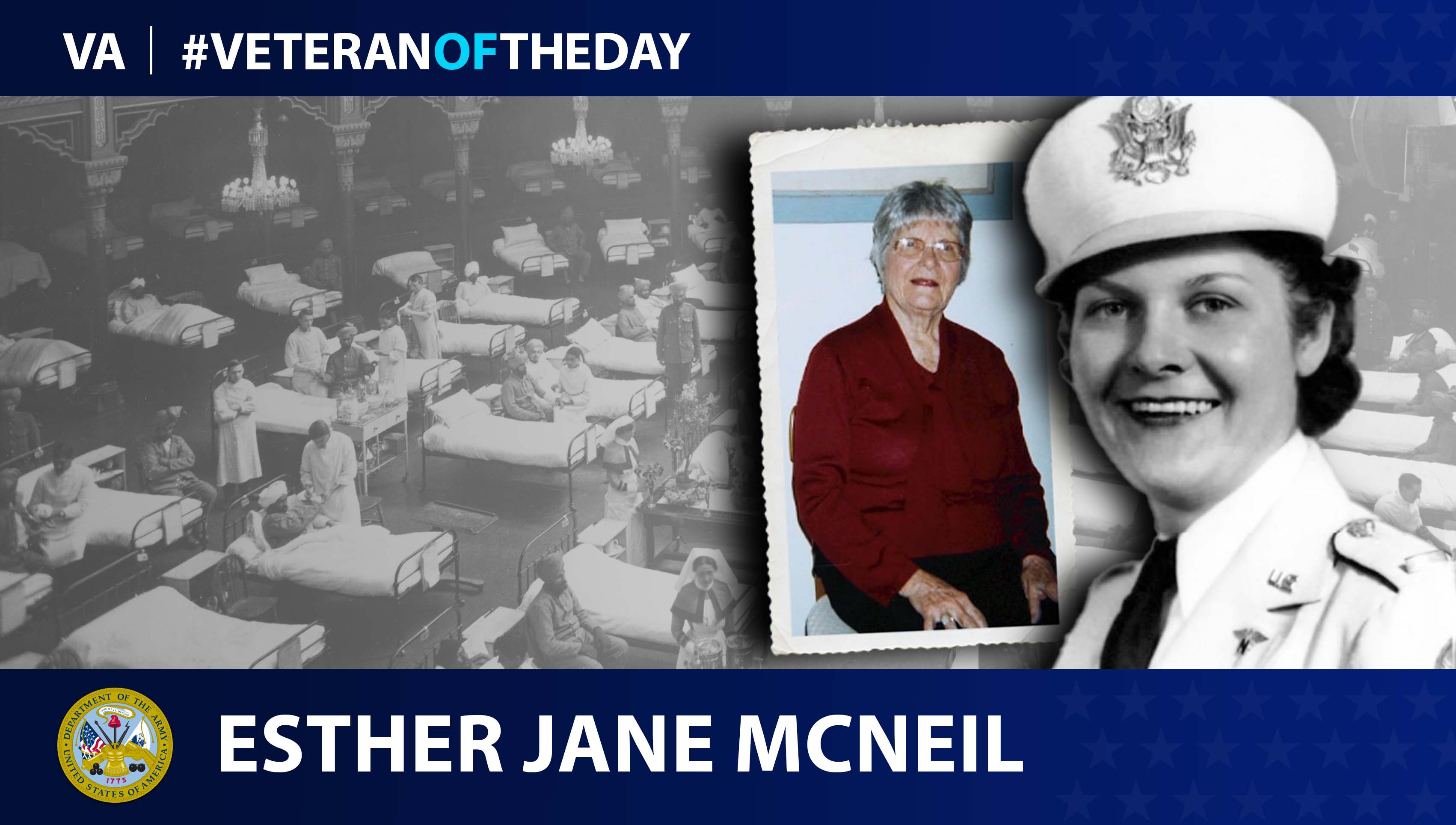Veteran of the Day...Esther Jane McNeil