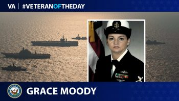 Navy Veteran Grace Moody is today's Veteran of the Day.