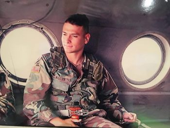 Jeremy Wheeler served two tours in Iraq with the U.S. Army 3rd Infantry Division as a military intelligence specialist.