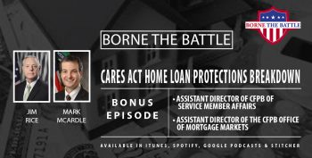 Bonus BtB episode on CFPB and CARES Act info for home loan forbearance.